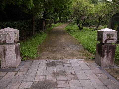 市民の森入り口