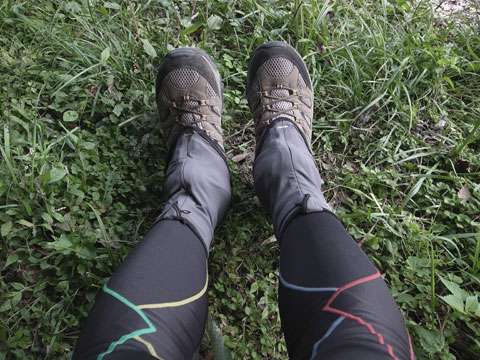 MountainHardwear(マウンテンハードウェア) Seta Strapless Runnning Gaiter(セタ ストラップレス ランニング ゲイター)