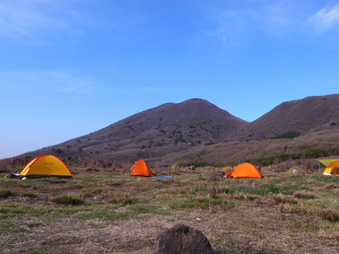 坊ガツル キャンプ場