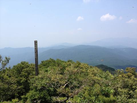 古処山山頂